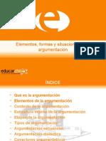 Elementos, formas y situaciones de la argumentacion_0.ppt