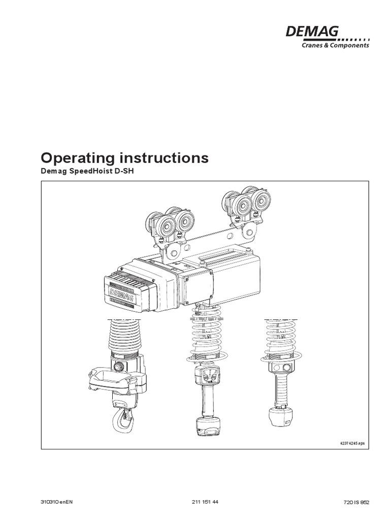 21115144_100331 hoist demag   Electrical Connector   Safety