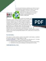 pila de daniel/ impacto ambiental