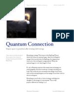 001 Quantum Connection eBook