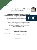 Development of English Language..