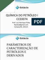 Aula Caracterização de Petroleo
