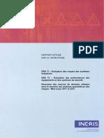 RAPPORT D ÉTUDE 20-12-2012 DRA-12-124789-07543A. DRA 71 - Évaluation Des Risques Des Systèmes Industriels (2)