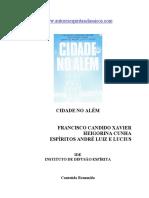 Chico Xavier - Livro 410 - Ano 1999 - Cidade no Alem.pdf