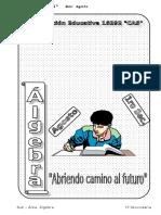 4. AGOSTO – ÁLGEBRA - 1er Año.doc