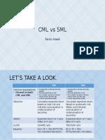 Cml vs sml