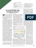 Berger - Long Interglacial