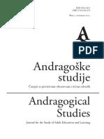 Andragoske Studije 2012-2