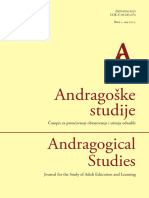 Andragoske Studije 2013-1