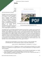 Filosofía de La Historia - Wikipedia, La Enciclopedia Libre