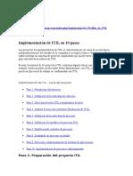 ITIL.implementacion