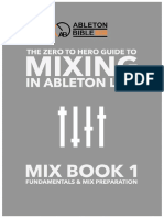 Mixing in AbleTon Live Book