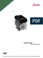 Danfoss FCM300 Quick Setup