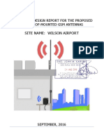 Wilson Airport_Proposed Wall-Mount Structural Report
