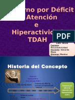 Trastorno Déficit de Atención TDAH