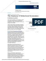 The Business of Behavioral Economics - Forbes