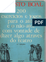 200 Exercicios e Jogos Para o Ator e o Nao Ator