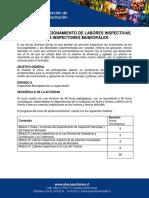 Curso Perfeccionamiento de Labores Inspectivas Para Inspectores Municipales