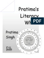 Pratima's Literacy Wheel and Workbook The Short Vowels a-e-i-o-u Sample Pages