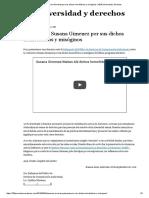 2016-09-30 Denuncia a Susana Gimenez Por Sus Dichos Homofóbicos y Misóginos _ 100% Diversidad y Derechos