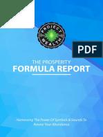 The Prosperity Formula Report
