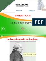 Semana6_Aplicaciones de Transformada de Laplace en Funciones