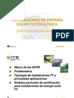 Instalaciones Energia Solar Fotovoltaica AmparoCebellan