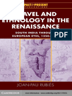 Joan-Pau Rubies-Travel and Ethnology in the Renaissance_ South India through European Eyes, 1250-1625 (Past and Present Publications) (2001).pdf