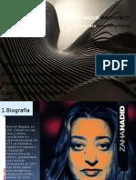 Exposicion de Zaha Hadid