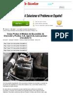 Parte 1 -Cómo Probar El Módulo de Encendido de Chevrolet y Pontiac 2