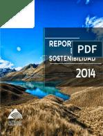 Reporte Sostenibilidad 2014 ANTAMINA