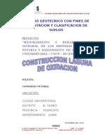 Proyecto Mejoramiento y Rehabilitacion Integral de Los Sistema LAGUNA de OXIDACION