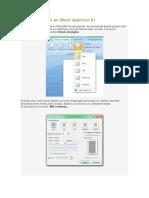 Lectura_Crear columnas en Word e Insertar WordArt.docx