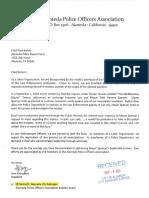 Alameda POA Letter
