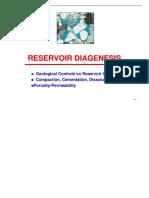 Diagenesis de Las Rocas Reservorios