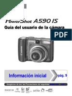 Manual Canon a590