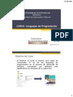 1 .-Presentacion Lenguajes de Programacion