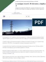 Licitación Eléctrica Consigue Récord_ 38 Oferentes y Duplica Propuestas de 2014 _ Negocios _ LA TERCERA