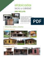 Casas Prefabricadas Colombia.