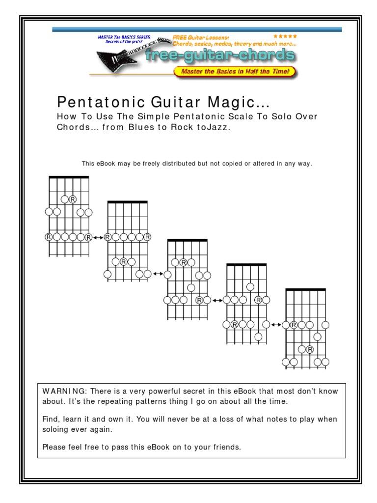 Pentatonic Guitar Magic String Instruments Celtic Musical