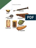 Instrumentos Tradicionales de Guatemala