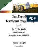 Power System Voltage Stability.pdf