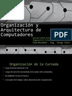 Clase 1_1 Introducción y Sistemas de Numeración
