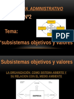 Diapositiva Subsitema Obj y Val