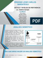 Analisis Semiotico Enviar a Los Chicos 14 de Julio