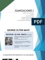 Organizaciones I