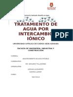 INTERCAMBIO IÓNICO