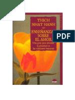 Thich Nhat Hanh Ensenanzas Sobre El Amor