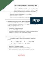 Exercices Cotes Electrochimie 261107