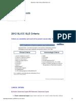 2012 SLICC SLE Criteria _ RheumTutor